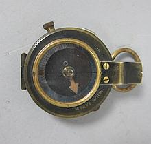 Verner's pattern WW1 compass marked F-L No 108354 1917,