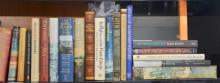Five boxes of naval and military books