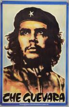 Che Guevara - I Was Lord Kitchener's Valet of Carnaby Street. London 1/60, vintage poster with artwork by John Judkins 1977, flat, 29.5 x 19.5 inches