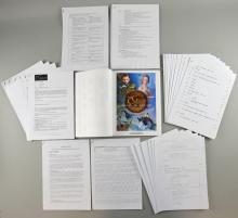 The Golden Compass - Collection of production folders including teaser trailer details, memos, Berlin trailer, Chris Weitz revisions, Philip Pullman revisions, Philip Pullman publicity email, Subtle Knife notes, additional photography memos, marketing bible,