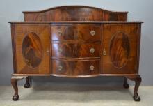 Early 20th century mahogany sideboard wi