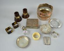 Silver items, and bric-a-brac including