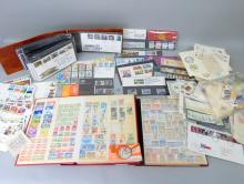Collection of modern stamps  to include