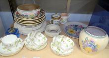 Selection of ceramics including six piec
