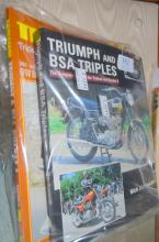 Triumph and BSA Triples The Complete sto