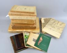 Selection of 19th century and later book