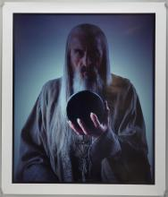 The Lord of The Rings - photo print of Saruman by Pierre Vinet, Athena International Tolkien poster (1976), & five modern posters, rolled, various sizes (7).Provenance: From Estate of Sir Christopher Lee.