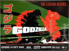 Godzilla (2005) BFI release British Quad film poster, directed by Ishiro Honda, Toho, rolled, 30 x 40 inches