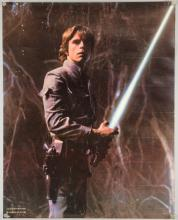 Star Wars (1977) Commercial poster with artwork by the Hildebrandt brothers, rolled, 22 x 28 inches