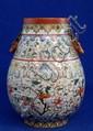 Chinese Famille verte vase,