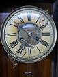 Early twentieth century walnut Vienna regulator clock