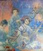 Daniel Pender Davidson 1855-1933, oil, Music