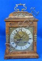 19th century walnut cased bracket clock by Webster of London,