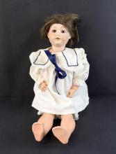 Early 20th century bisque headed doll. S