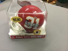 Priest Holmes NFL Player Mini Helmet Kanas City Chiefs