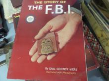 BOOK Story of the FBI by Earl Schenck Miers 1965