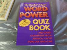 BOOK The Reader's Digest Word Power Quiz Book 50th Anniv. 1000 words