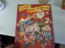 BOOK Santas Merry Carnival POP UP BOOK