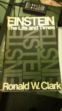 BOOK Einstein The Life and Times By Ronald W. Clark published 1932 MaNY COPY RIGHTS