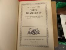 BOOK Plays of the Greek Dramatists was Given to someone 1945 no copy right