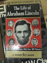 BOOK The Life of Abraham Lincoln 180 Pictures by Stefan Lorant copy right 1954 FIRST PRINT 1955