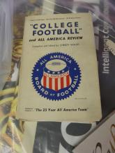 BOOK College FootbalL and All American Review 1949