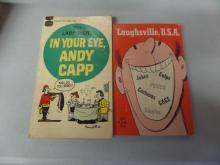 BOOKS lot of 2 7th Larf Riot IN your eye ANDY CAPP and Laughsville USA