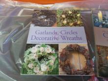 BOOKS LIKE NEW THE COMPLETE BOOK OF Crafting Candles Garland & Circles