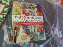 BOOK LIKE NEW The Michaels Book of arts and crafts beading scrap books etc