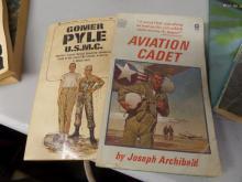 BOOKS lot of 2 Gomer Pyle USMC and Aviation Cadet