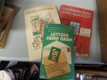 BOOKS lot of 3 Letters from camp, Encyclopedia Brown Strikes Again, Fairy tale Coloring Book