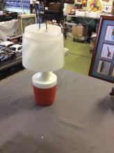 Vintage Ray-O-Vac No. 100 Plastic Portable Lamp/Camping Lantern 1975