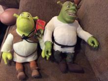 Lot of 2 Shrek Dolls
