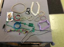 Vintage Costume Jewelry and Bead Lot