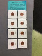 us treasury commemorative medallion Lot of 8