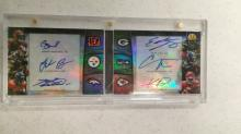 2013 Bowman Sterling Booklet 6/Auto Bernard Bell Ball Lacy Michael Davis Numbered to 10