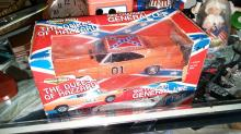 Ertl American Muscle Dukes Of Hazzard General Lee Race Day RARE 1:18 Diecast Car