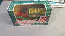 Coca Cola Diecast Metal Bank Truck