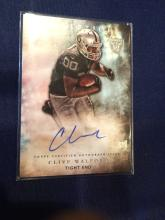 2015 Topps inception Clive Walford rookie autograph! Oakland Raiders Rc AUTO!