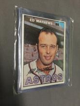 Ed Mathews 1967 Topps Card