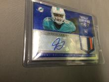 2014 Jarvis Landry Panini Totally Certified 3 Color Patch Auto RC /50