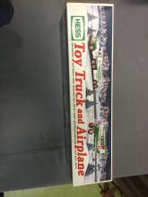 2002 Toy Truck and Airplane - Hess - NIB