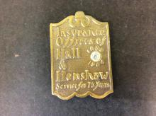 Insurance offices Hall and Henshaw Medal