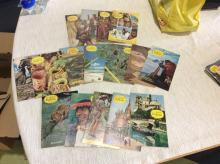 Large LOT OF - 1960â??s NATIONAL GEOGRAPHIC SCHOOL BULLETIN BOOKLETS Scholastic Vintage