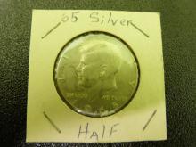 1965 Kennedy Half Dollar (40% silver)