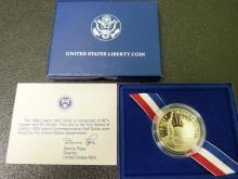 1986 Statue of Liberty Half Dollar (US Mint Proof)