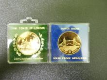 Tower of London / Tower Bridge medallions