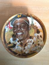 Willie Mays Collectors Plate