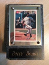 Barry Bonds Plaque