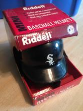 Riddell Mini White Sox Helmet
